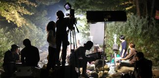 A movie production in Asia