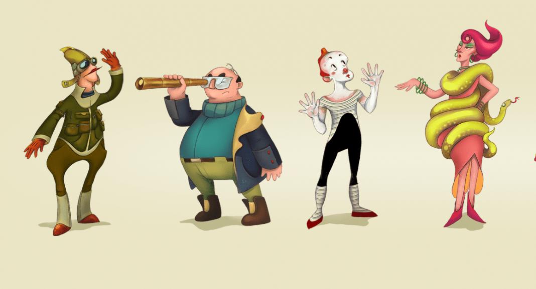 Animation Characters Development