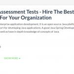 Java Spring Developer Assessment Tests