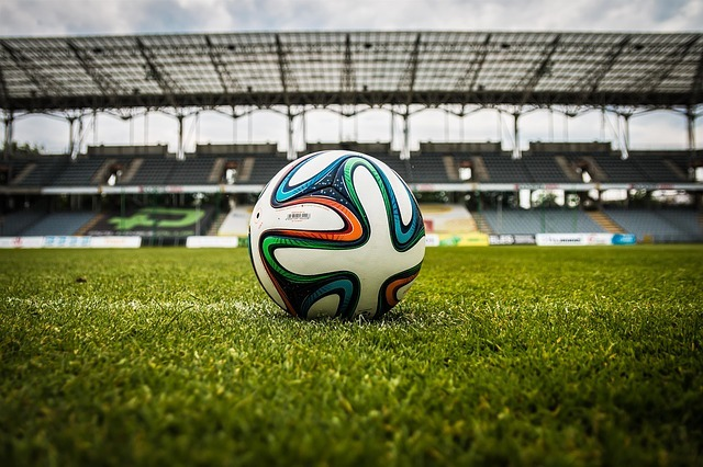 the ball, stadion, football