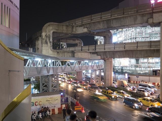 bangkok, skytrain, light