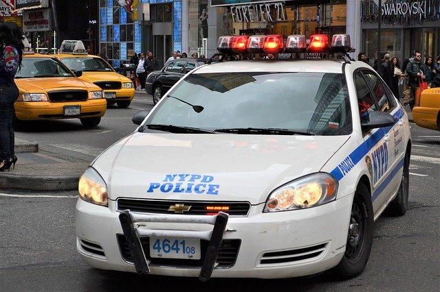 police car, nypd, manhattan