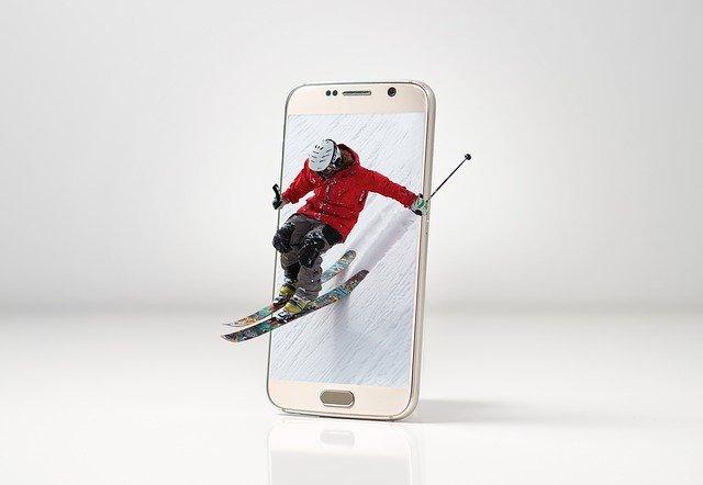 ski, snow, sport