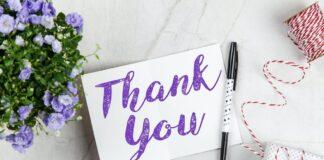 Thank You Signage